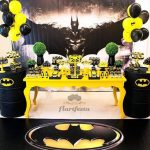 Ideas para decorar una fiesta de batman