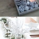 Imágenes de centros de mesa navideños