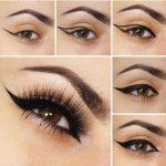 Imágenes de como delinear los ojos