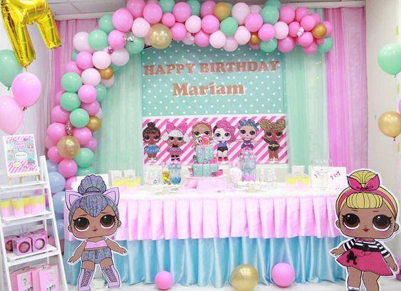 Fiesta de cumpleaños LOL surprise