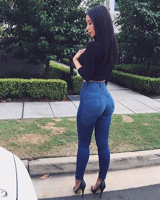 Jeans para resaltar tu figura
