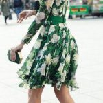 Looks con vestidos florales