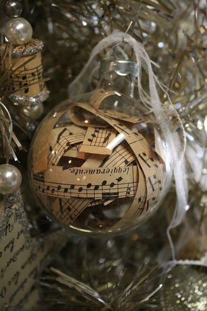 Manualidades para hacer esferas navideñas