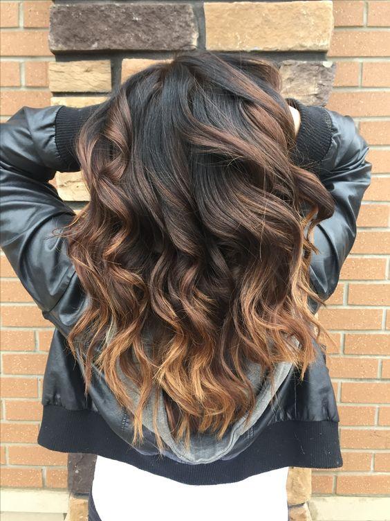 Mechas para el cabello estilo ombre