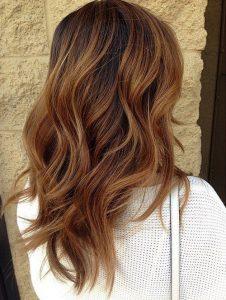 Mechas para el cabello tiger eye y mechas color beige