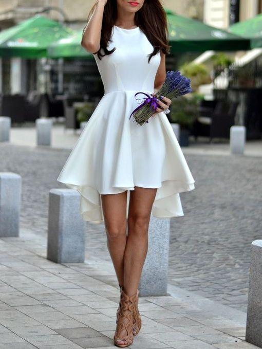 Vestidos para novia cortos