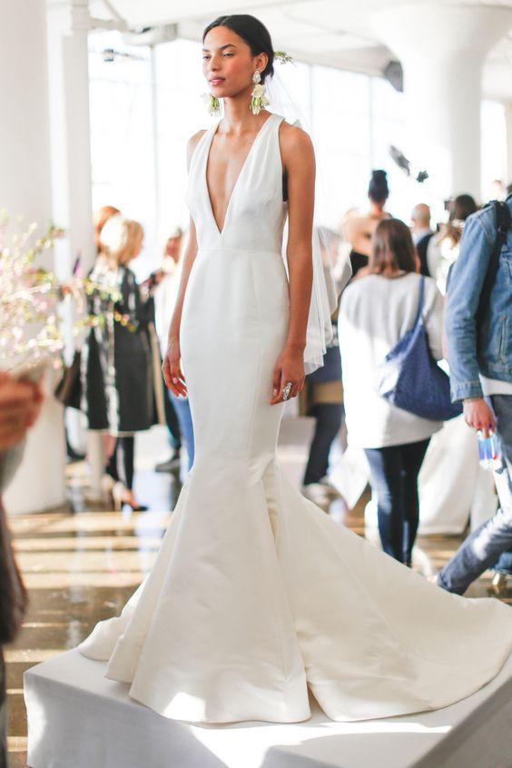 Vestidos para novia modernos