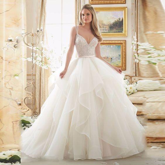 Vestidos para novia sencillos