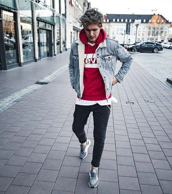 looks para el invierno en adolescentes hombres
