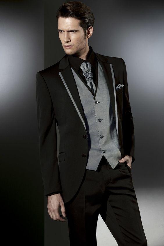 trajes de novio para boda de noches