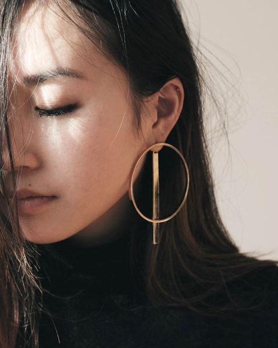 aretes de moda 2019