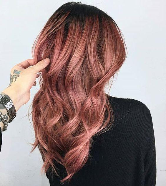 colores de cabello de moda 2019
