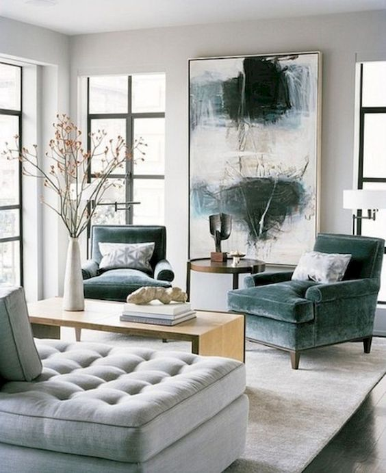 como decorar salas modernas 2019