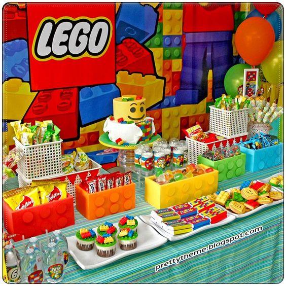 que lleva una mesa de dulces para fiesta infantil