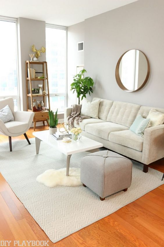salas modernas 2019 pequeñas