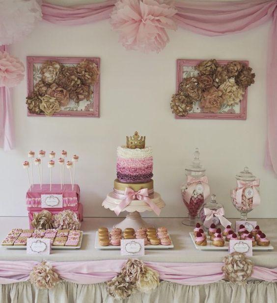 temas para baby shower 2019 niña con flores