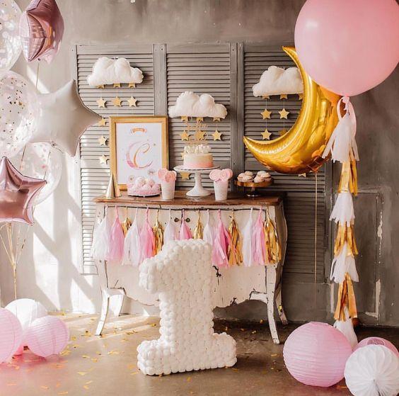 temas para fiestas infantiles de niña de 1 año