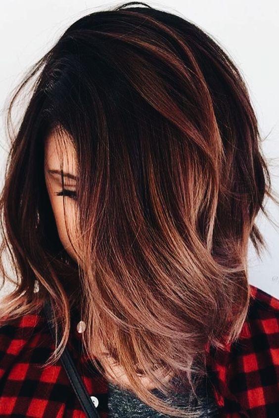 tintes para morenas cabello corto