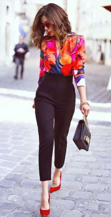 Como vestir a los 30 años mujer con pantalón