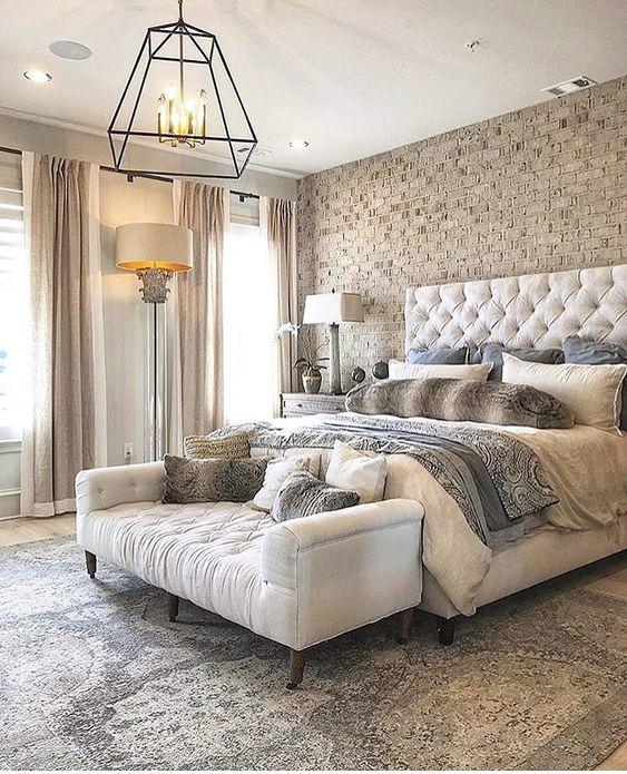 habitaciones modernas de pareja