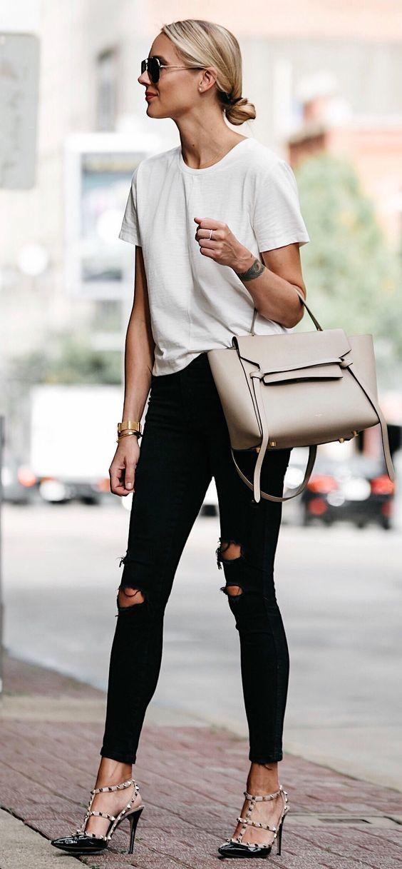 moda para mujeres de 30 con tacones