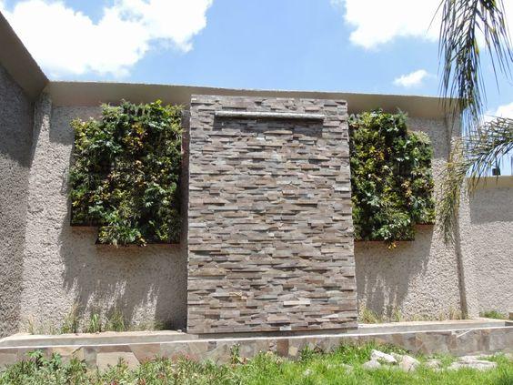 paredes con piedra laja