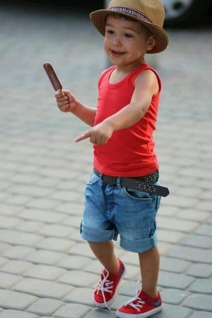 combinaciones de ropa casual para niños