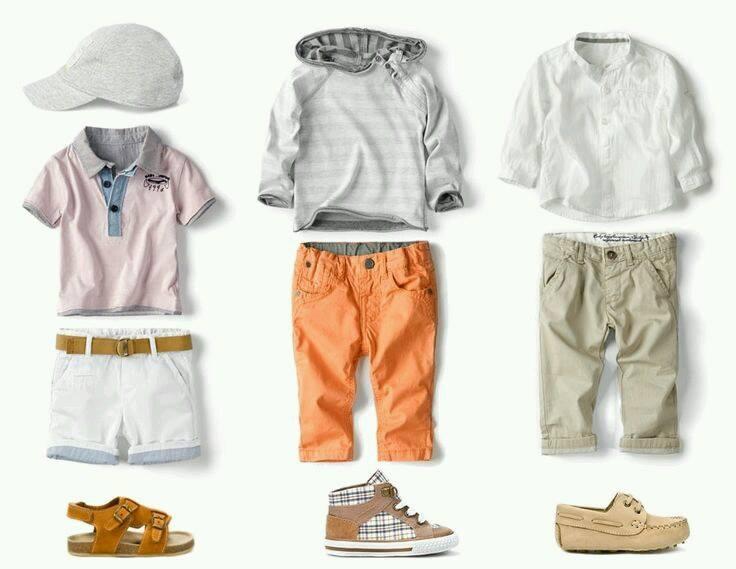combinaciones para vestir a tu pequeño