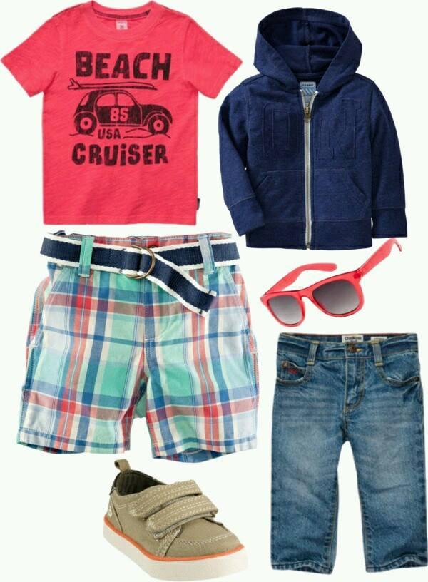 como combinar colores de ropa y zapatos para niños
