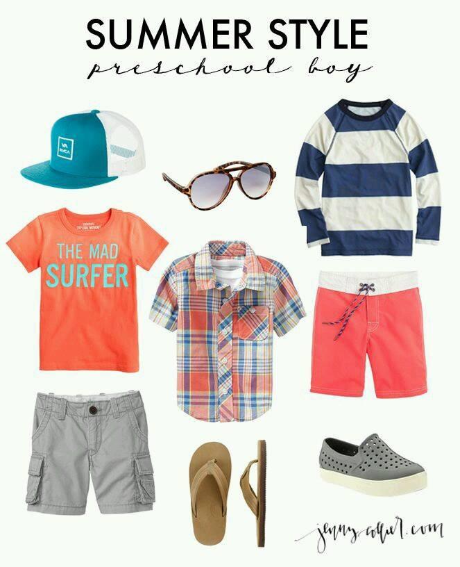 ideas para combinar prendas de moda para niños 2019