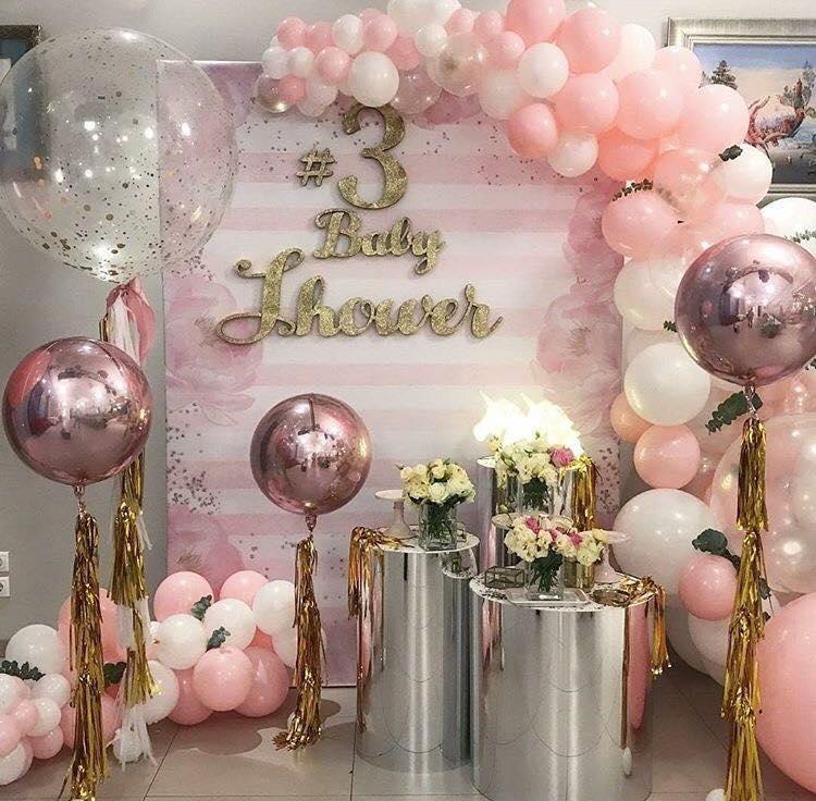 las mejores ideas para decorar un baby shower de niña