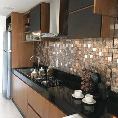Decoracion de casas pequeñas modernas en el área de la cocina