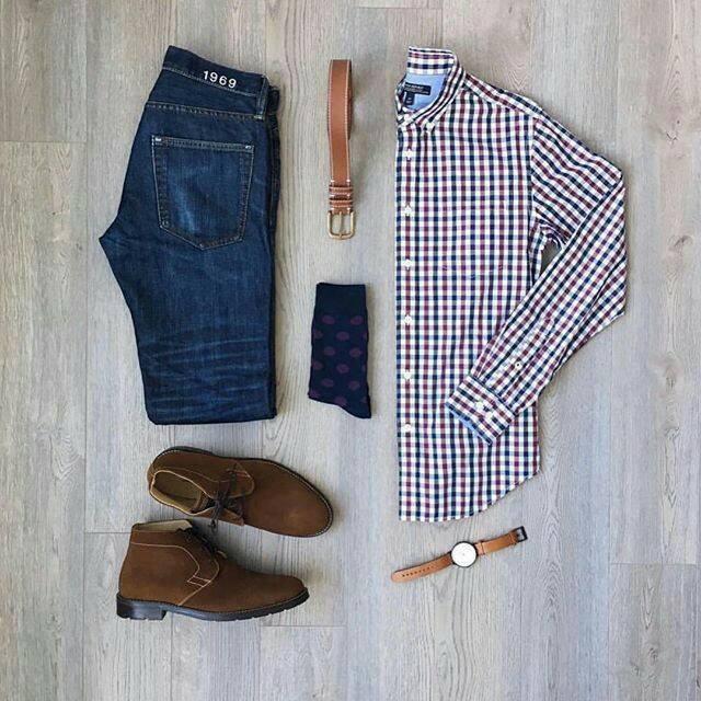 Look con camisas para hombres