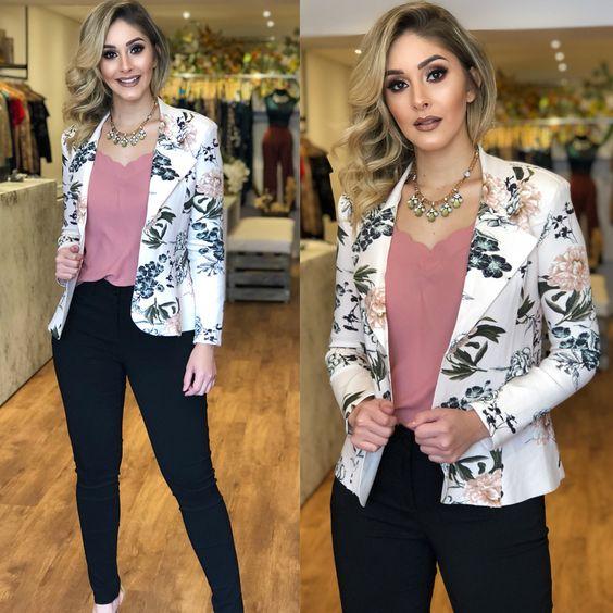 Blazer de moda 2019