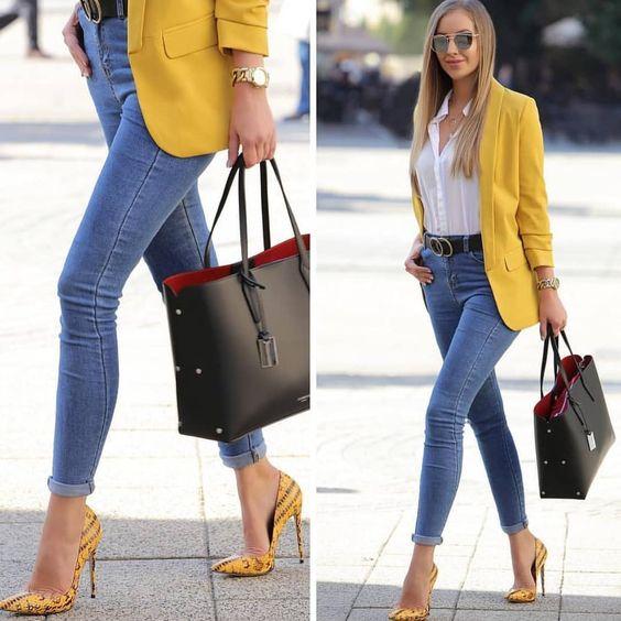Curso expres de Como Combinar Blazer con Jeans