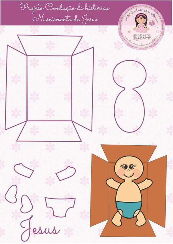 Moldes de nacimientos navideños para imprimir