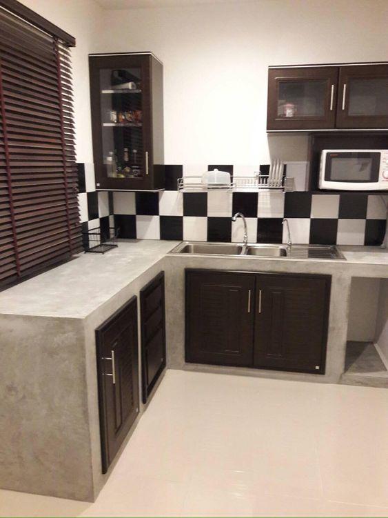 barras de cocina para casas de infonavit