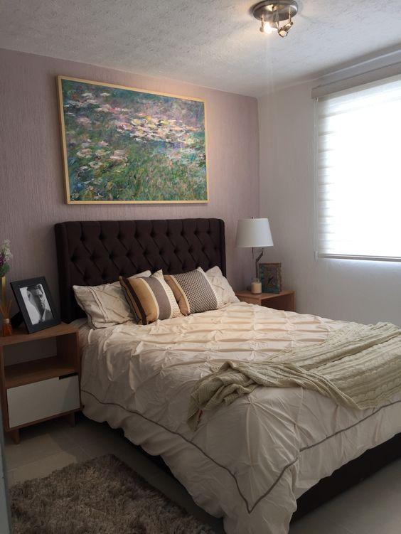 camas para decorar dormitorios en casas pequeñas