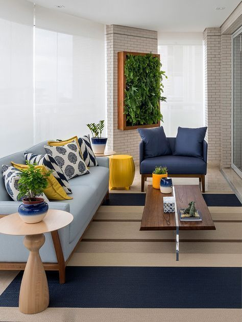 sillones para decorar la sala en una casa pequeña