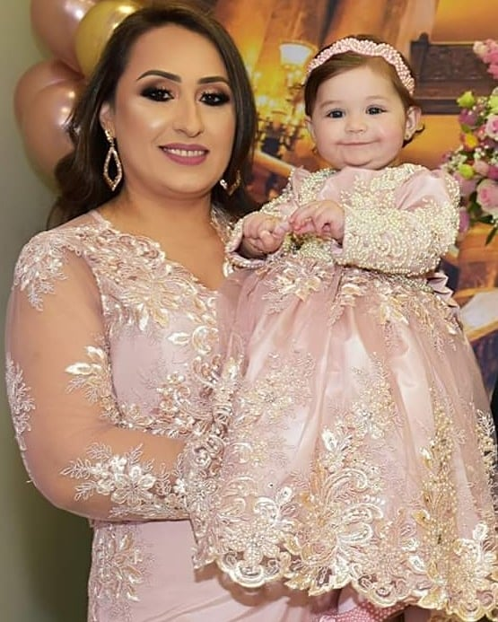 vestidos de noche duo mama e hija