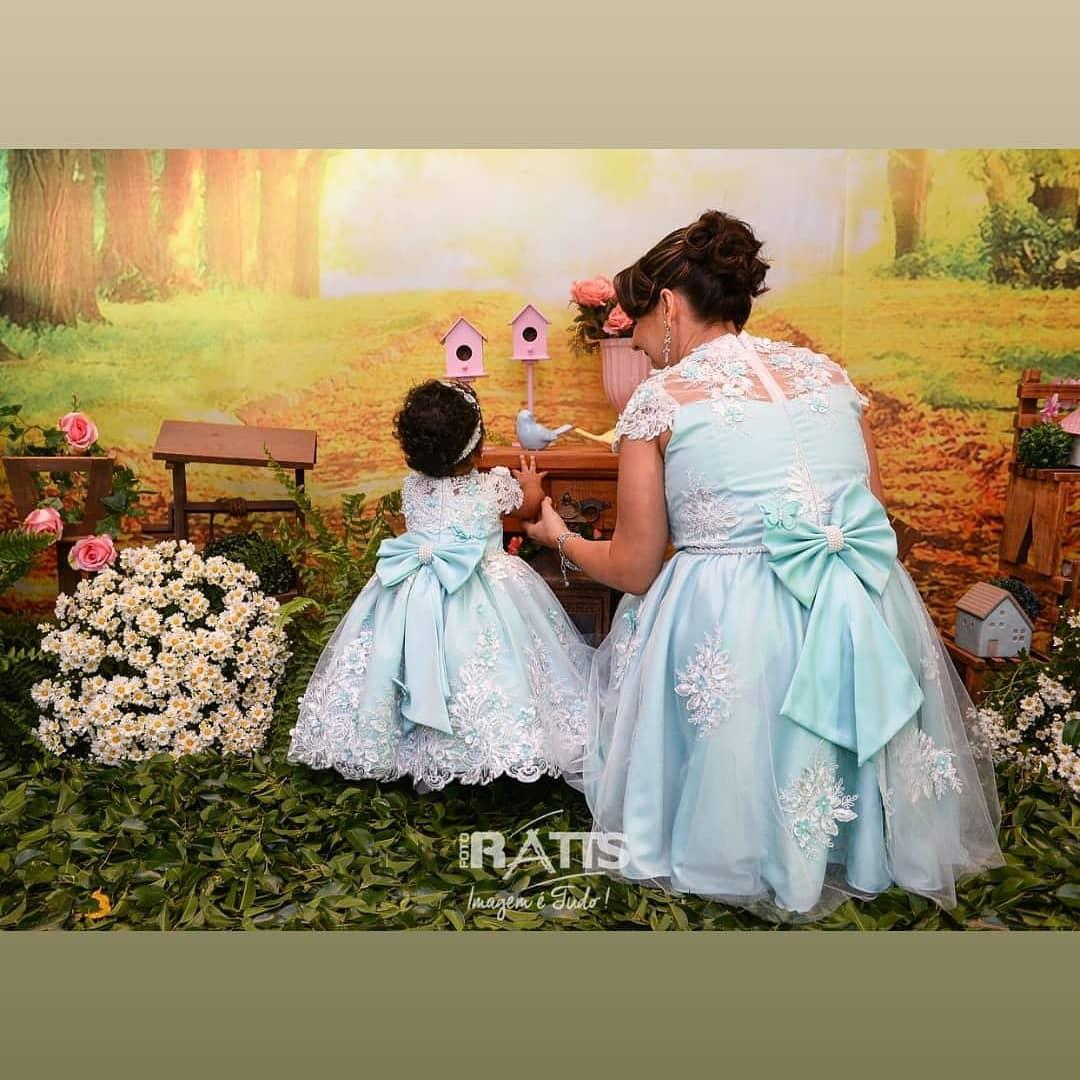 vestidos mama e hija bebe