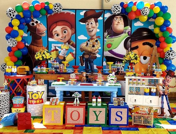 fiesta tematica de toy story 4