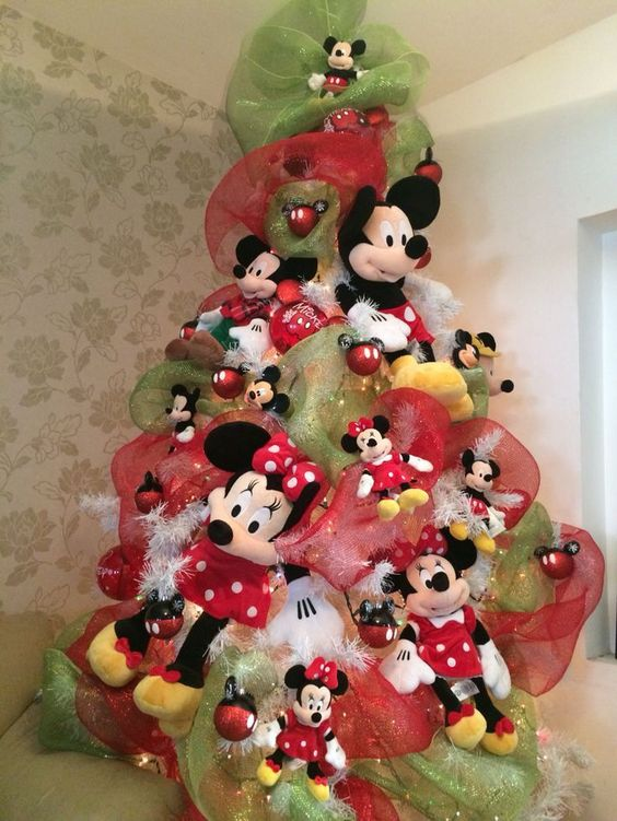 arbol de navidad de mickey mouse