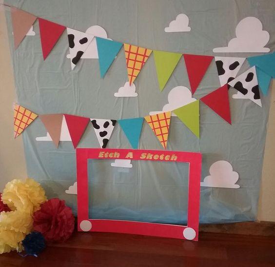 backdrops para fiesta de toy story 4