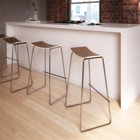 bancos para barra de cocina de herreria