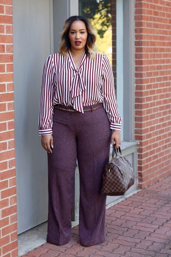 Blusas de moda para gorditas