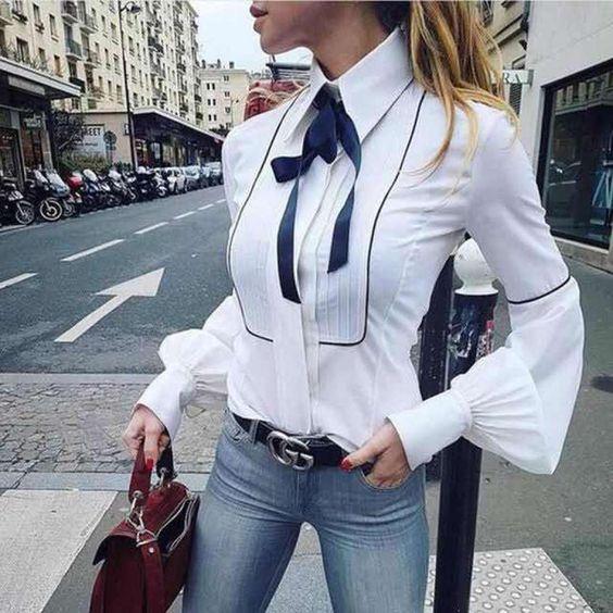blusas ejecutivas para uniforme