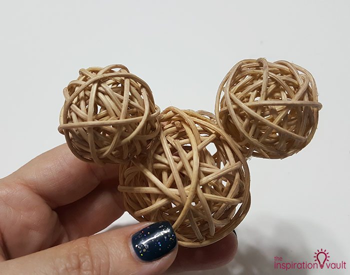 como hacer esferas de mickey mouse