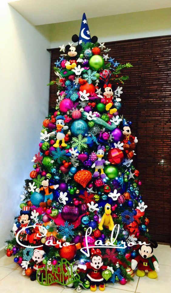 decoracion para navidad de mickey mouse