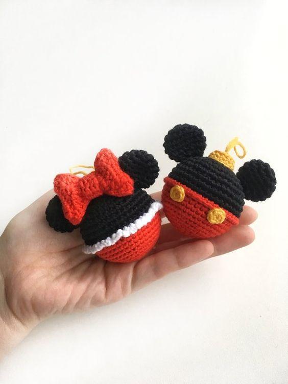 esferas de mickey mouse para navidad